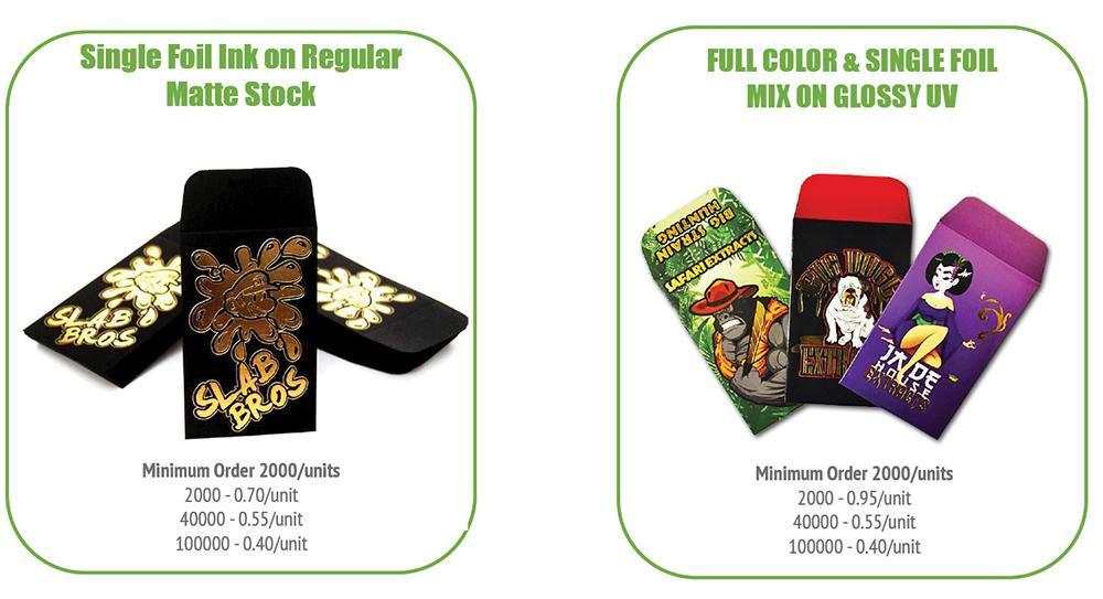 Shatter Envelopes - Custom420 ca - Canadian Wholesale